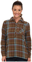Life is Good L/S Plaid Popover