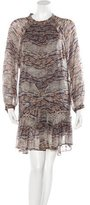 Isabel Marant Tribal Print Silk Dress