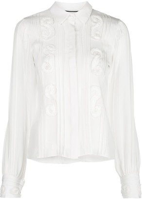 Alexis Lorne pleated shirt
