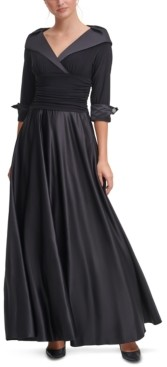 Jessica Howard Portrait-Collar Gown