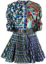Thumbnail for your product : Chopova Lowena Plaid-Check Print Dress
