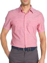 Izod Dockside Chambray Sport Shirt