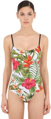MC2 Saint Barth TROPICAL PRINT ONE PIECE SWIMSUIT