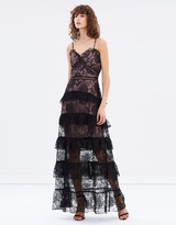 Nicholas Rosie Lace Tiered Gown
