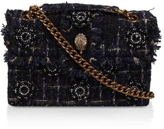 Kurt Geiger Tweed Kensington X Bag Shoulder Bags
