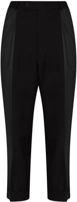 Rentrayage Split Personality panelled trousers
