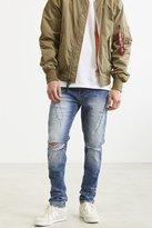 BDG Skinny Stacked Zip Inseam Jean