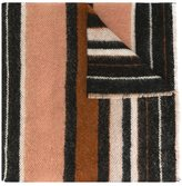 Faliero Sarti striped scarf - unisex - Polyamide/Cashmere/Mohair/Virgin Wool - One Size