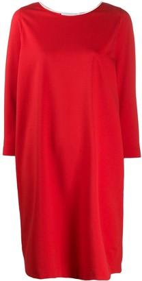 Harris Wharf London long-sleeve flared mini dress