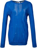 Nina Ricci ribbed jumper - women - Viscose - S