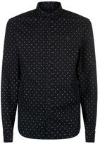 AllSaints Fairfield Polka Dot Shirt