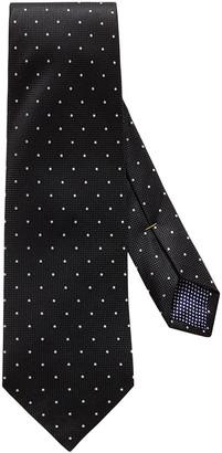 Eton Men's Polka Dot Silk Tie