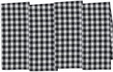 DESIGN IMPORTS Design Imports French Check Set of 4 Kitchen Towels