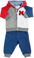 Little Marc Jacobs Color Blocked Cotton Sweatshirt & Pants