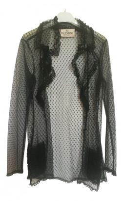 Valentino Black Lace Tops