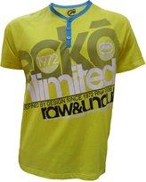Ecko Unlimited Marc Men's Unltd Graphic Style Short Sleeve T-Shirt