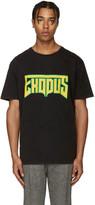 Palm Angels Black & Yellow Exodus T-Shirt
