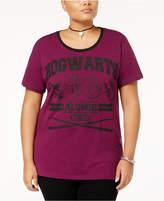 Bioworld Trendy Plus Size Hogwarts Alumni Graphic T-Shirt