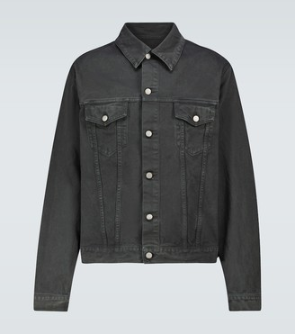 Maison Margiela Garment-dyed denim jacket