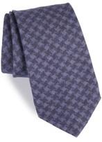 Michael Bastian Men's Houndstooth Wool Tie
