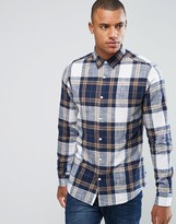 ONLY & SONS Shirt in Slim Fit Cotton Check