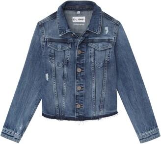 DL1961 Distressed Denim Jacket