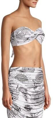 Norma Kamali Strapless Johnny Bikini Top