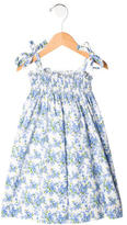 Rachel Riley Girls' Sleeveless Floral Dress