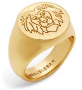 BaubleBar Leo Lion Head Ring
