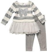 Sweet Heart Rose Sweetheart Rose Baby Girls Two-Piece Mini Dress and Leggings Set