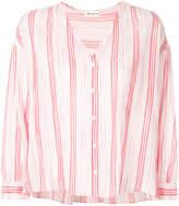 Masscob striped v-neck shirt