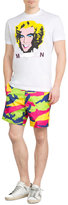 DSQUARED2 Camouflage Print Shorts