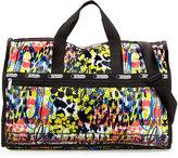 Le Sport Sac Large Printed Weekender Bag, Blooming