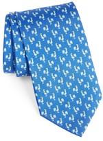 Salvatore Ferragamo Men's Rooster Print Silk Tie