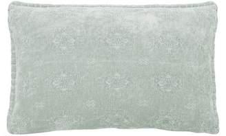 French Connection Gravelle Decorative Lumbar Pillow Color: Rain Blue