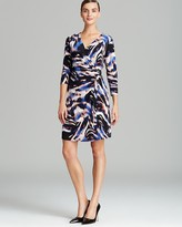 Calvin Klein Printed Wrap Dress