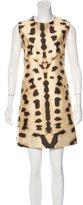 Kaufman Franco Kaufmanfranco Printed Sheath Dress