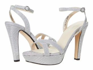 Touch Ups Women's Ankle Strap Platform Heel Heeled Sandal