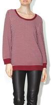 Dex Garnet & Ivory Sweater