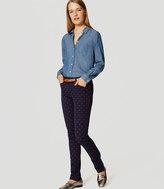 LOFT Geo Bi-Stretch Skinny Pants in Marisa Fit