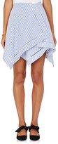 J.W.Anderson Women's Striped Cotton Handkerchief Skirt