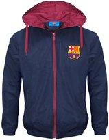 F.C. Barcelona FC Barcelona Official Football Gift Boys Shower Jacket Windbreaker MB