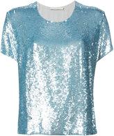 Amen sequined T-shirt - women - Viscose/Polyester - 40