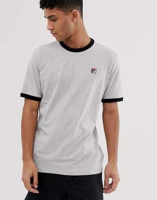 Fila Marconi ringer t-shirt in gray