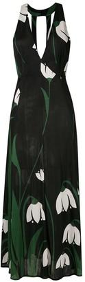 Adriana Degreas Printed Midi Dress