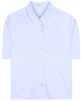 Alexander Wang Cropped Cotton Shirt