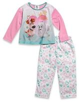 "Disney The Secret Life Of Pets"" Size 4T 2-Piece PJs in Pink"