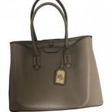 Ralph Lauren Ecru Leather Handbags