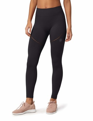Amazon Brand - AURIQUE Women's Seamless Sports Leggings