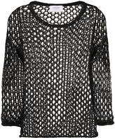 Snobby Sheep open-knit top